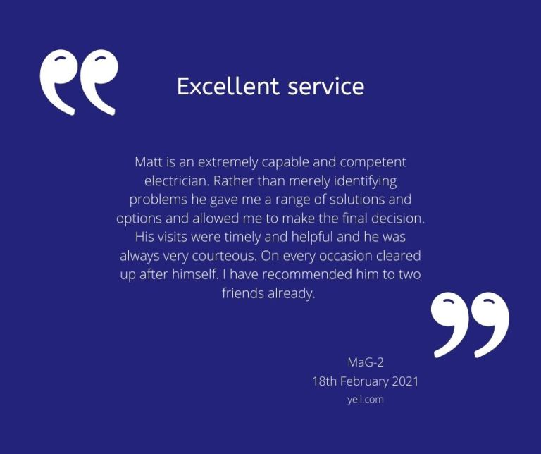 Testimonial from MaG