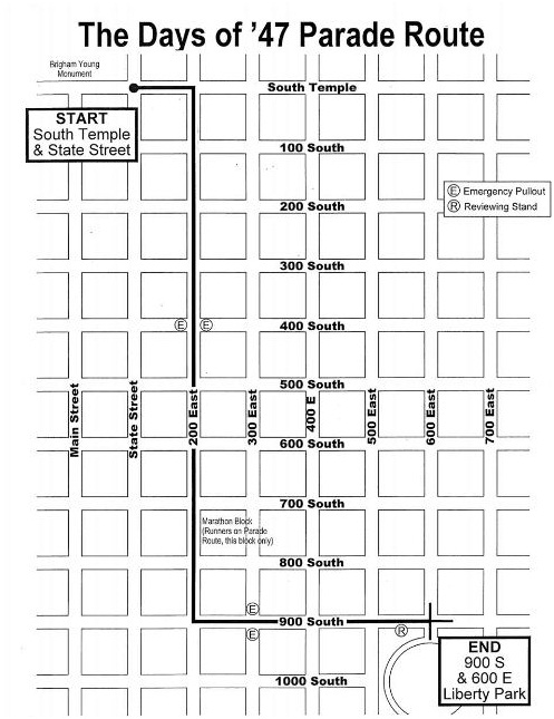SLCPD Reminds Public of Parade Route Rules