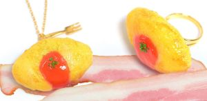 Fake Food Hatanaka Bacon Jewelry