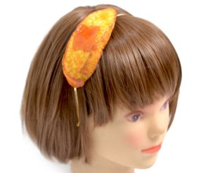 Fake Food Hatanaka Accessoires Omelette auf dem Kopf ungewöhnlicher Schmuck