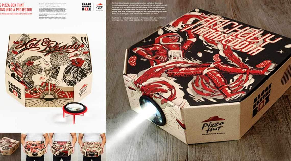 Pizzabox-Projektor Beitragsbild
