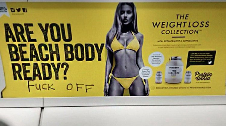 beach body kampagne protein world lookism