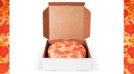Pizza-Geschenkpapier
