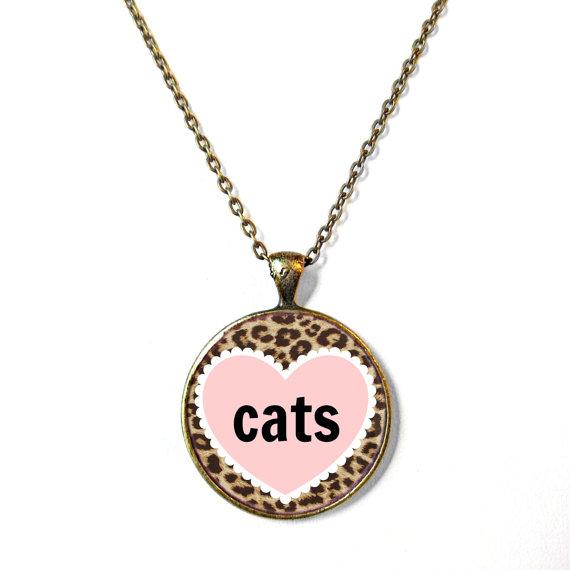 SnarkFactory Etsy Valentinstagsschmuck catlady