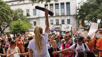 cocks, not glocks protest
