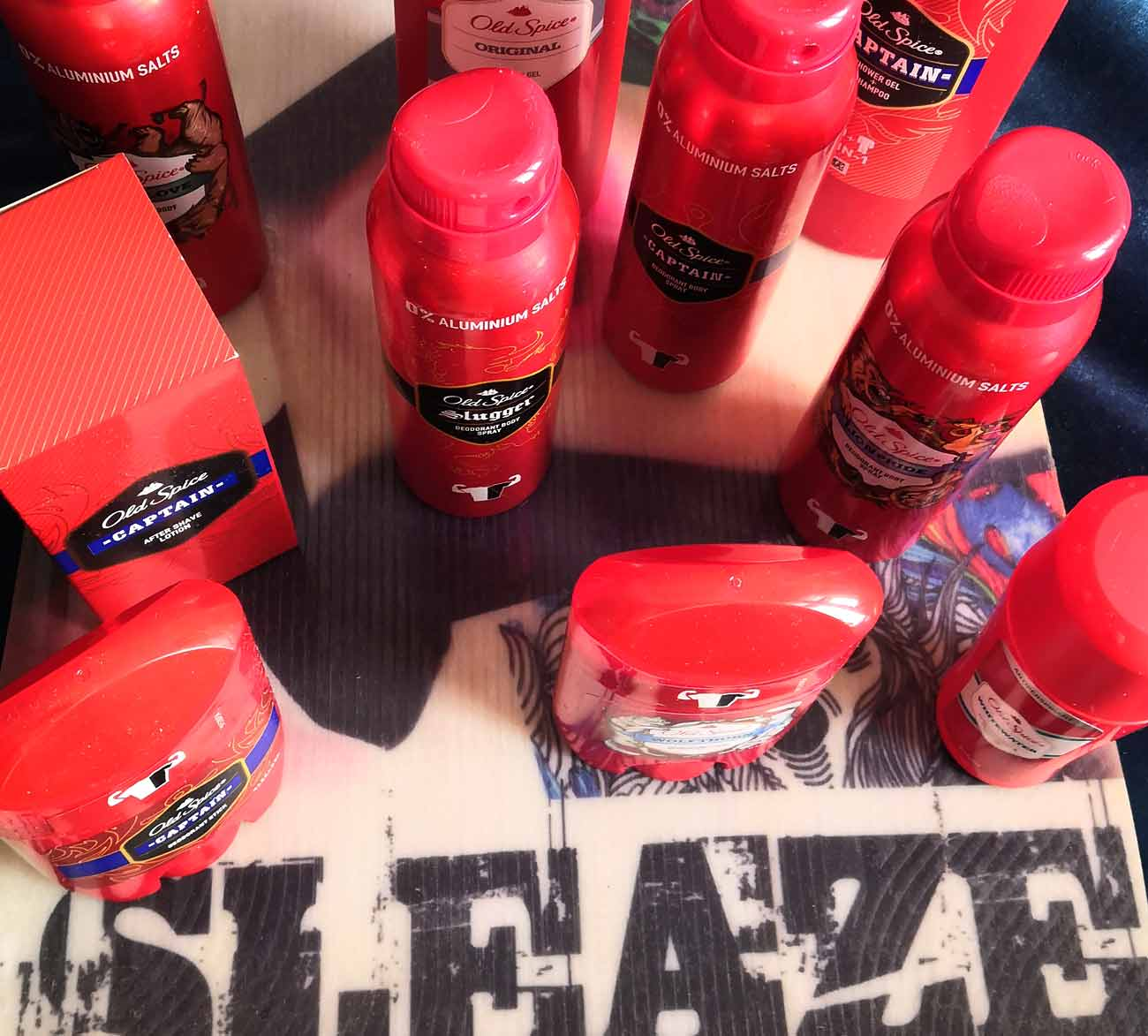 SLEAZE + Old Spice Alter