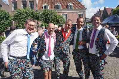 De Slechte Band als afsluiter bij Straatmuzikantenconcours De Gouden Pet