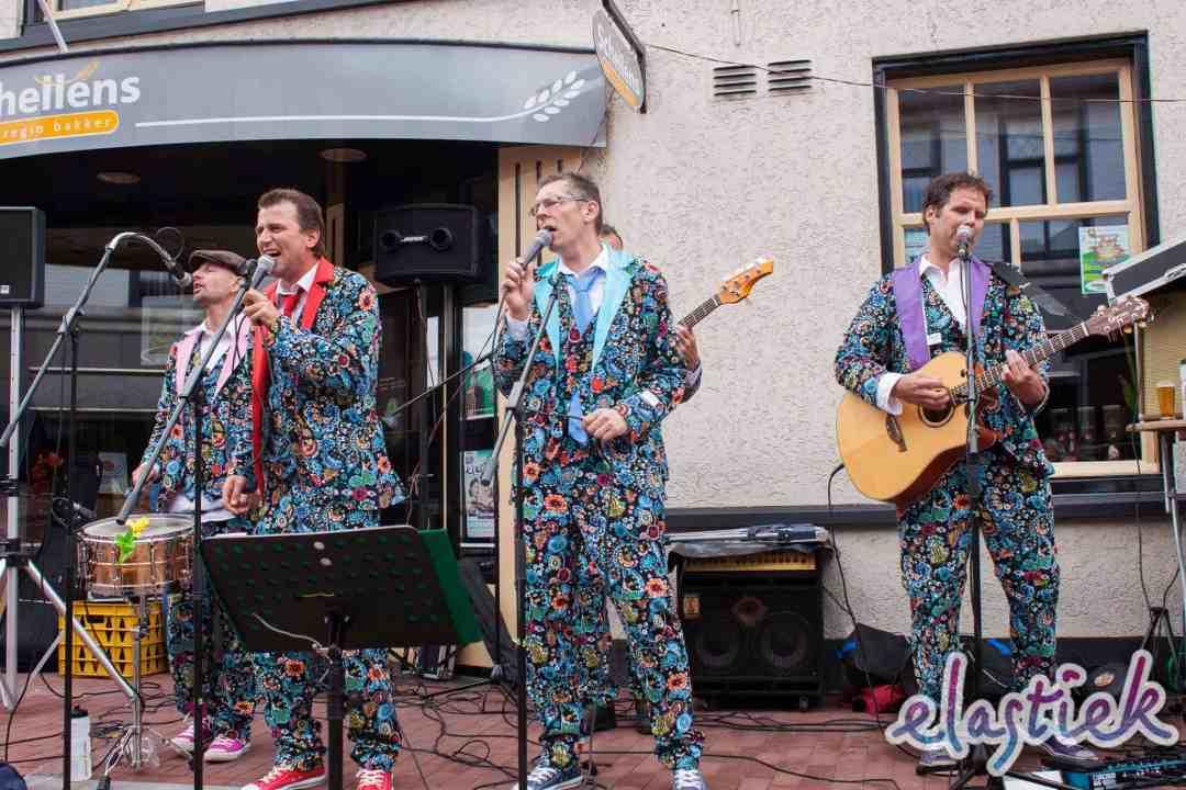 De Slechte Band bij Elastiek 2013 (in Hilvarenbeek)