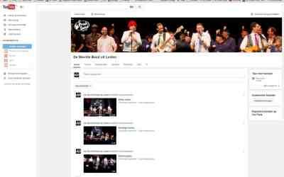 Nieuw youtube-kanaal voor de Slechte Band uit Leiden