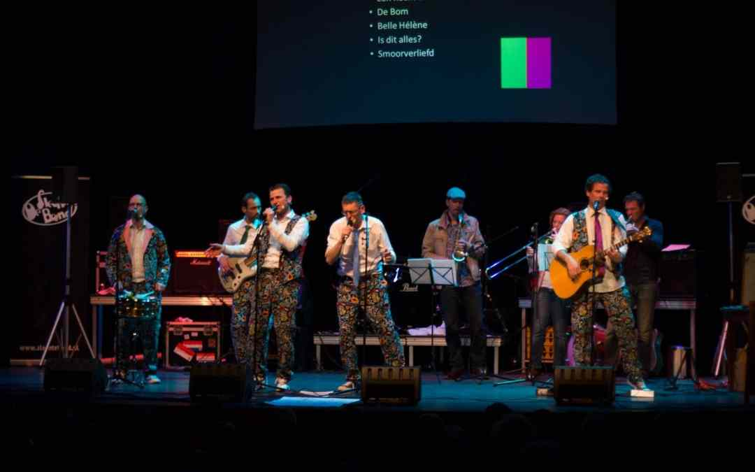 De Slechte Band in de Leidse Schouwburg