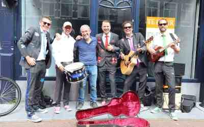 Nieuwe pakken voor de Slechte Band uit Leiden