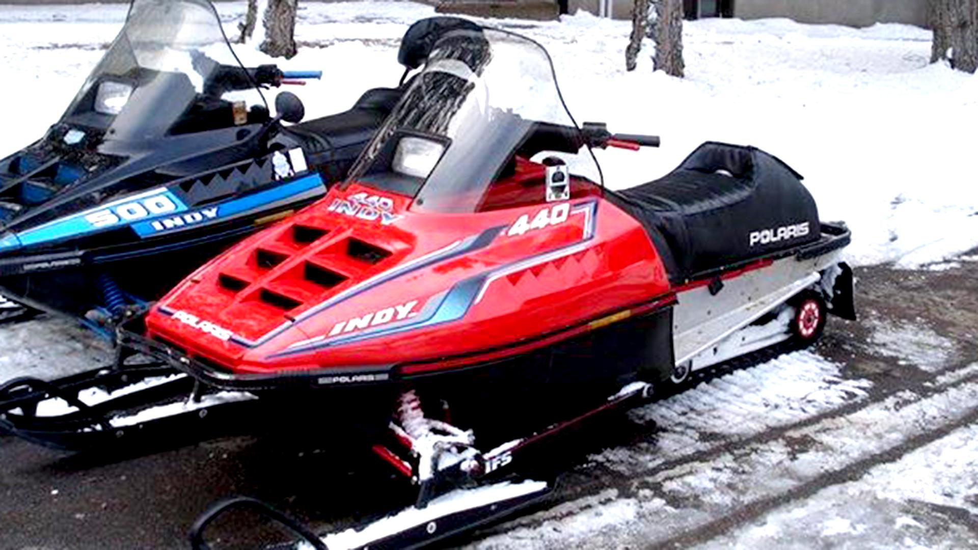 hight resolution of polari indy snowmobile part