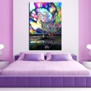 tableau-abstrait-moderne-drop-art