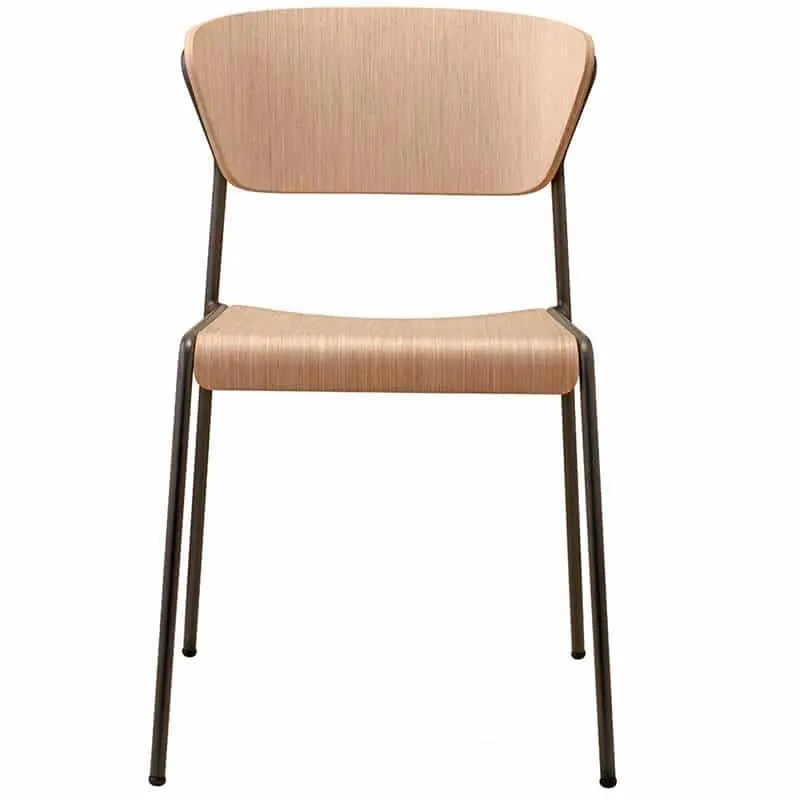 chaise lisa wood