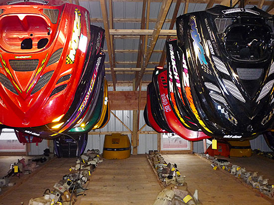 Snowmobile salvage and parts