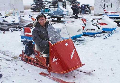 David Johnson of Polaris Snowmobiles