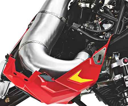Polaris XCR 600R Race Sled