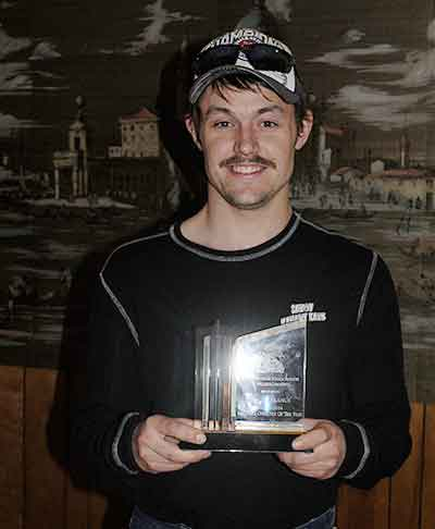 Jim LaFrance Savoy Kanary Kats, snowmobile trail groomer operator of the year