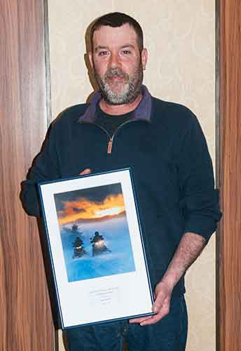 John Rackem Snowmobile Association of Massachusetts 2016 Trail Worker Of The Year
