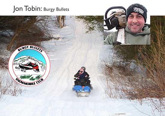 Jon Tobin, snowmobile volunteer