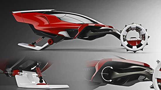 Rapid Deployment Snow Vehicle design
