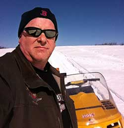 Brad Rand, snowmobile volunteer