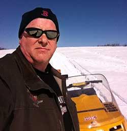 Brad Rand, snowmobile volunteer