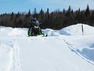 Snowmobile trails CHAUDIERE APPALACHES , ST-FERDINAND, QUÉBEC