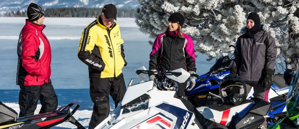 Snowmobilers need a break too