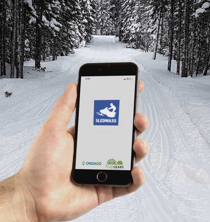 Advertise on our interactive map app