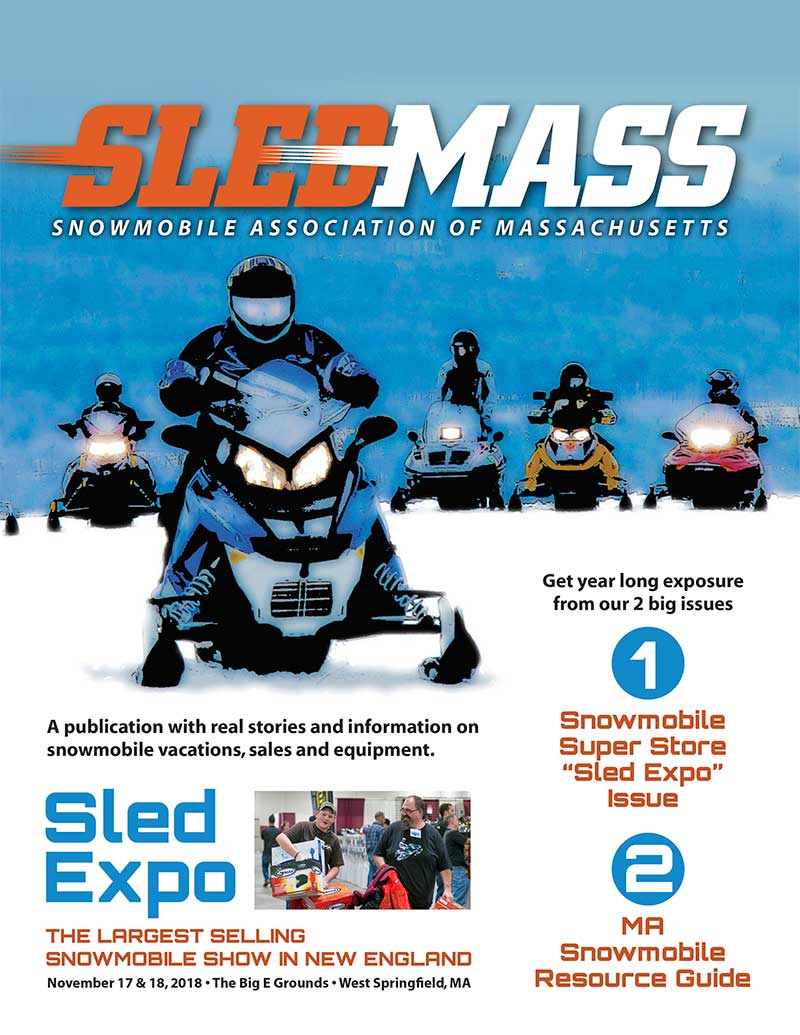 Advertise in the SledMass magazine