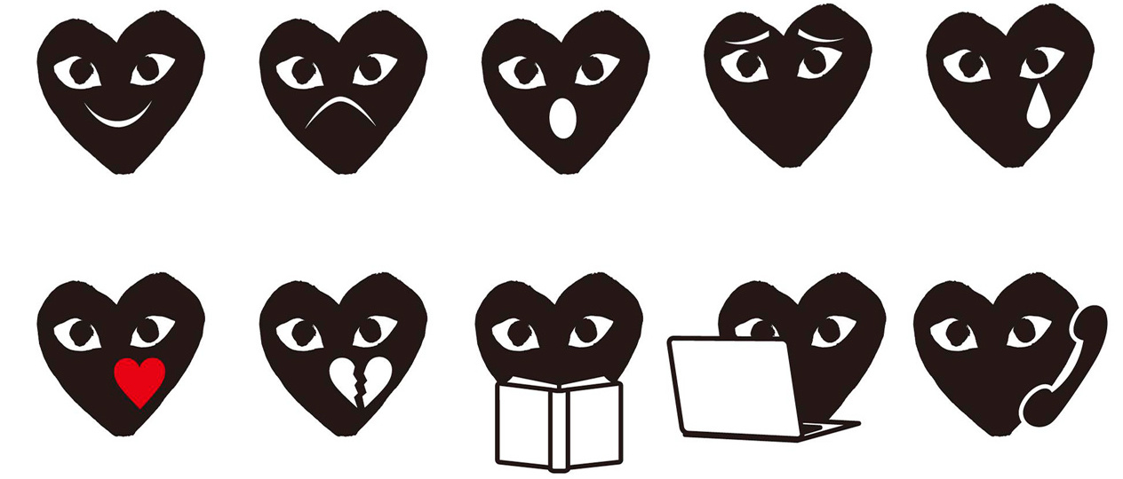 Comme Des Garcons Now Has its Own Emoji  sleek mag