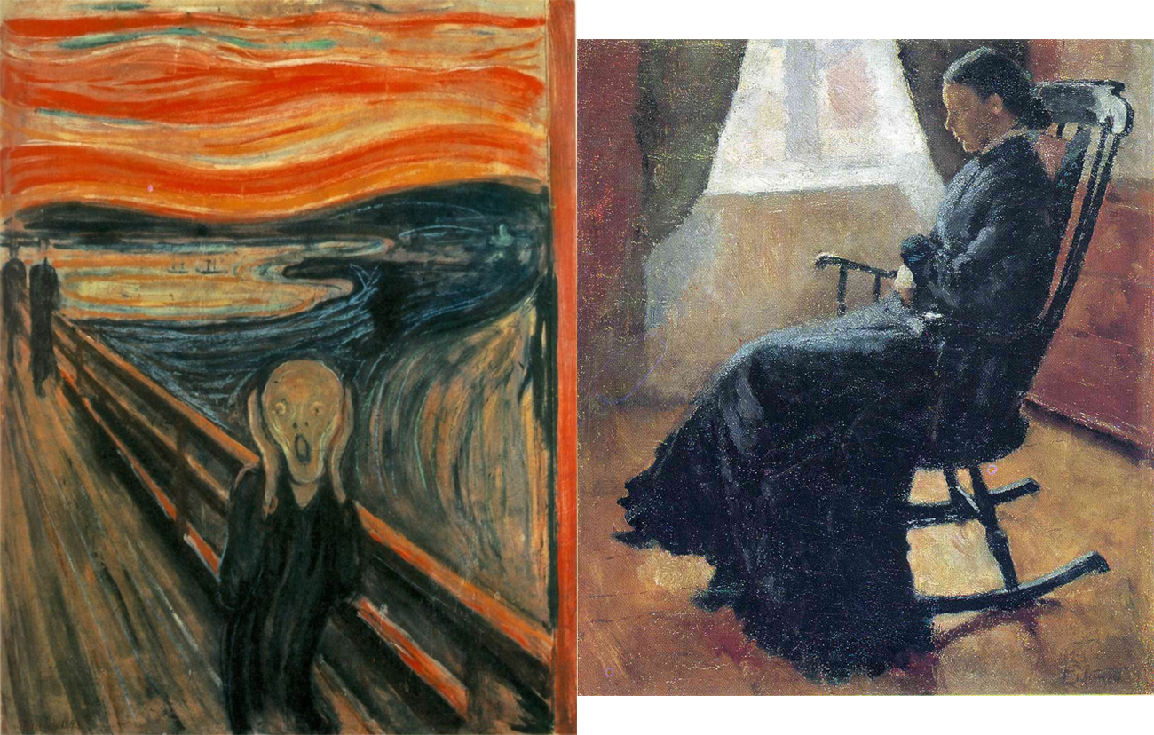 aunt priscilla has a rocking chair outdoor wicker uk 10 things everyone should know about edvard munch sleek mag