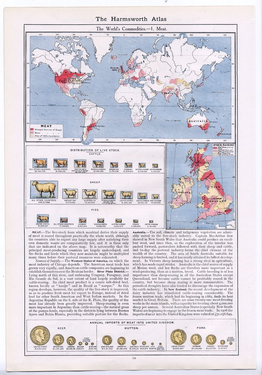 hight resolution of 1907 map diagram world commodities wheat rye maize rice oats barley cocoa 11