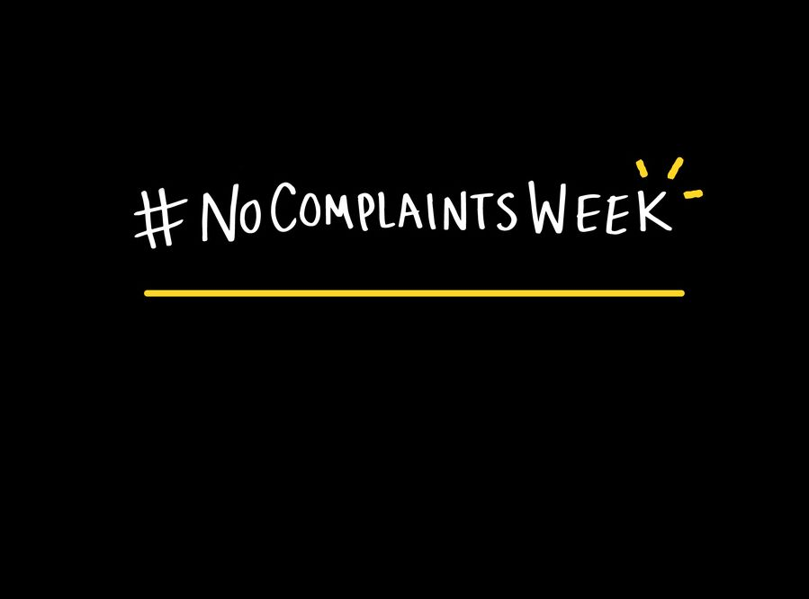 Greatist No Complaints Week