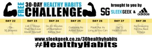 Sleekgeek 30-Day Healthy Habit Challenge Week 4 powered by adidas