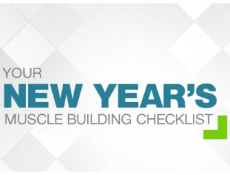 Your new year muscle building checklist