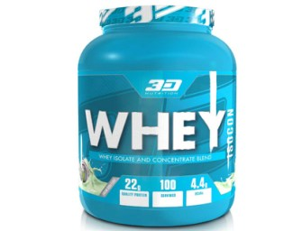 3D Nutrition Whey Isocon Review