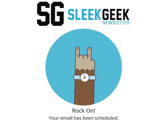 The Sleekgeek Newsletter (blog posts, success stories, and cool stuff delivered weekly)