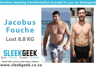 Jacobus Tackled His Challenges Head On & Lost 8.8kg!