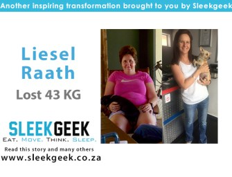 Liesel Did Not Give Up & Managed to Lose 43kg!