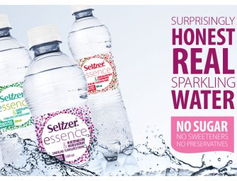 Win some new Seltzer Essence – honest sparkling water