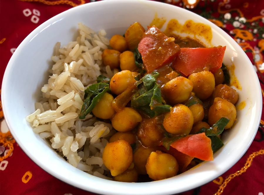 Recipe – Chickpeas Curry