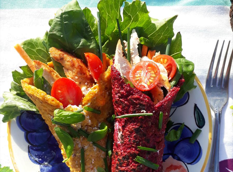 Recipe – Veggie Wrap 3 Ways