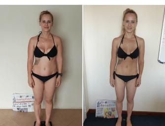QA: Tania Redelinghuys smashes the 8 Week Challenge!