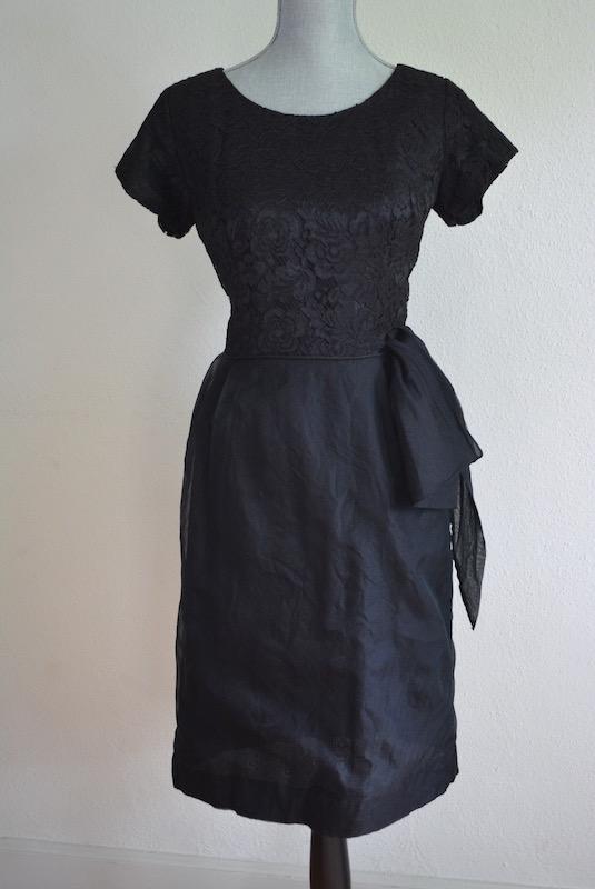 Black Dress, Vintage Clothes, Vintage Dress, Black Dress, 1950s, 1960's, Cocktail Dress, Audrey Hepburn