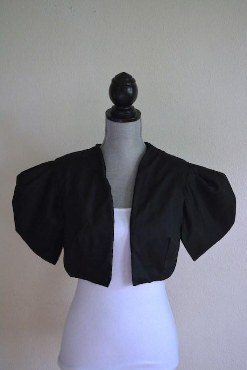 Black Bolero Jacket, Vintage Clothes, Vintage Jacket, Bolero Jacket, Black Jacket, Short Jacket