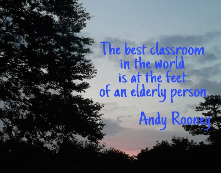 Sweet Day, Andy Rooney Quote