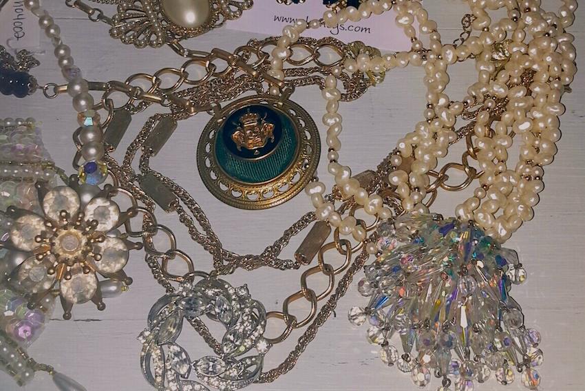 New Handmade Pieces, New Handmade Items, Repurposed Jewelry, Vintage Parts