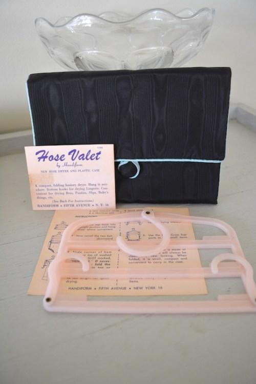Hosiery Case, Vintage Hosiery Bag, Vintage Bag, Never Used Vintage Case, Handiform, Hosiery Case with Valet, Hosiery Bag, Vintage Hosiery Bag with Valet